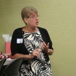 NFRW President, Sue Lynch at KFRW mtg. in Louisville 6-4-11