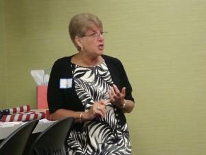 NFRW President, Sue Lynch at KFRW mtg. in Louisville 6-4-11