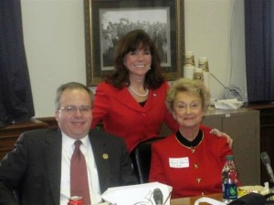 Rep. Adam Koenig, Rep. Addia Wuchner & Sarah Kahmann