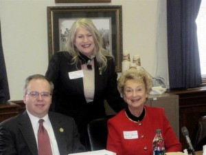 Rep. Adam Koenig, 63rd Dist. Rep. candidate Diane St. Onge & Sarah Kahmann