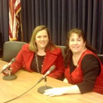 KCRWC Pres. Kim Kraft & Lynn Berk - a radio call-in show in the making?!