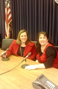 KCRWC Pres. Kim Kraft & Lynn Berk - a radio call-in show in the making?!