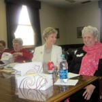 Sen. Katie Stine & Eileen Wendt-Moser at lunch