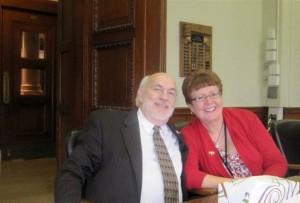 Kelley & Sen. Jack Westwood