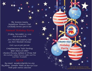 2019 KCRWC Holiday Party Invitation